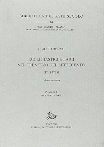 Ecclesiastici e laici nel Trentino del Settecento (1748-1763) (8863721823) by [???]