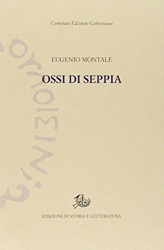 9788863727296: Ossi di seppia (Edizioni Gobettiane)