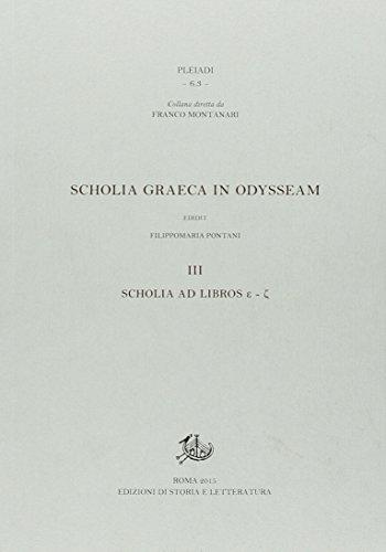 9788863728033: Scholia graeca in Odysseam. Ediz. bilingue: 3 (Pleiadi)