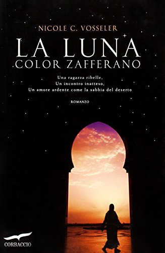 9788863802412: La luna color zafferano (Romance)