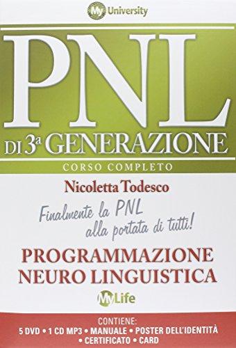 9788863862454: PNL di 3ª generazione. My Life University. Con CD Audio formato MP3. Con 7 DVD