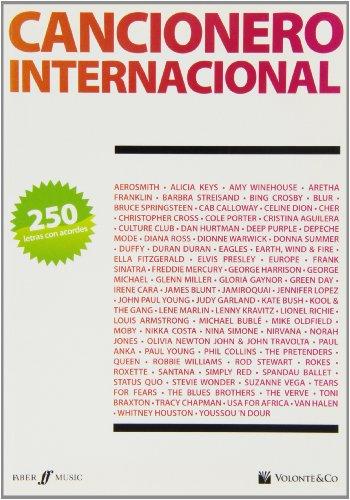 9788863880052: CANCIONERO - Cancionero Internacional (250 Letras y Acordes) para Guitarra