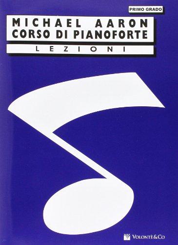 9788863880281: Corso di pianoforte. Primo grado