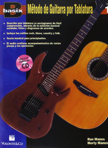 9788863880489: BASIX METODO GUITARRA 1 + CD