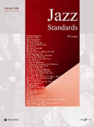 Jazz Standards, für Klavier und Gesang. : 40 Songs