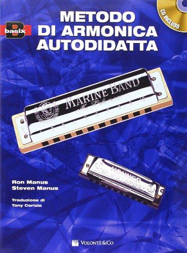 9788863880762: Metodo di armonica per l'autodidatta. Con CD Audio