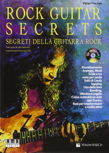 9788863881165: Rock guitar secrets. Segreti della chitarra. Con CD Audio