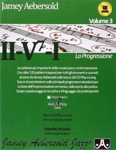 9788863881349: La progressione II-V7-I. Con CD Audio