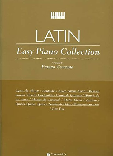 9788863881455: Latin - Easy Piano Collection Piano