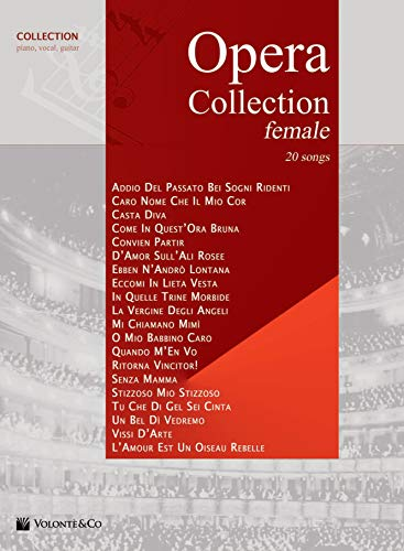9788863882018: Opéra Collection (Female)