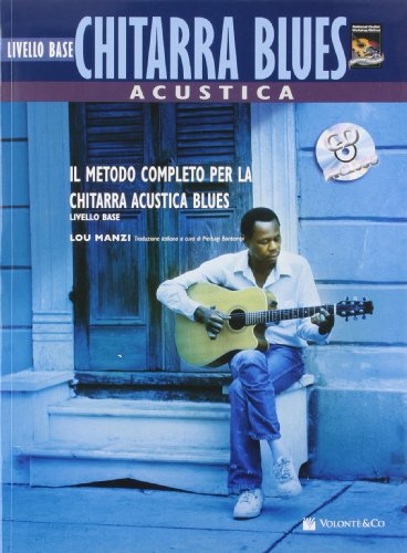 9788863882117: Chitarra acustica blues. Livello base. Con CD Audio