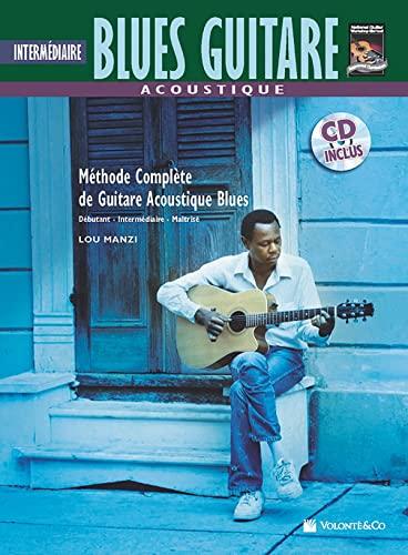 9788863882421: Acoustique Blues Guitare Intermediaire: Intermediate Acoustic Blues Guitar