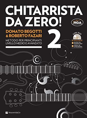 9788863882445: Chitarrista da zero! Con DVD