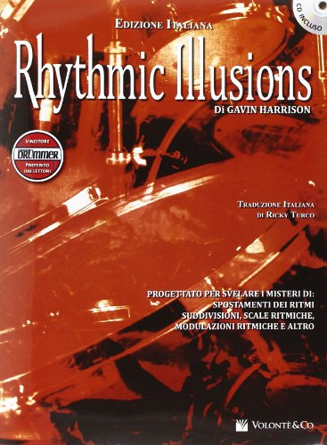9788863883503: Rhythmic illusions. Con CD Audio