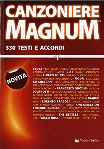 9788863885996: Canzoniere magnum. 330 testi e accordi