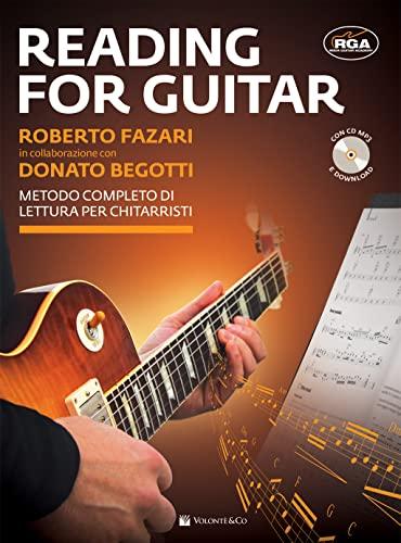 9788863887006: Reading for guitar. Metodo completo di lettura per chitarristi. Con file audio per il download. Con CD-Audio