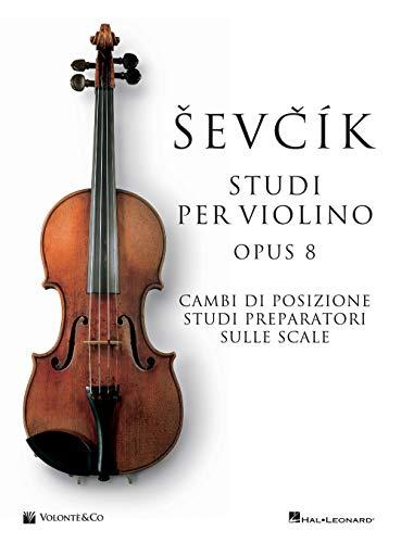 9788863887600: Studi violino op.8. Metodo