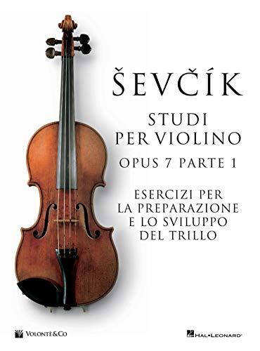 9788863887617: Studi violino op.7 parte 1. Metodo (Vol.)