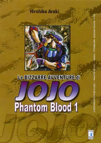 Phantom blood. Le bizzarre avventure di Jojo vol. 1 (8864200339) by Hirohiko Araki