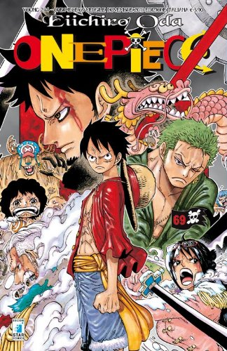 9788864207704: One piece: 69 (Young)