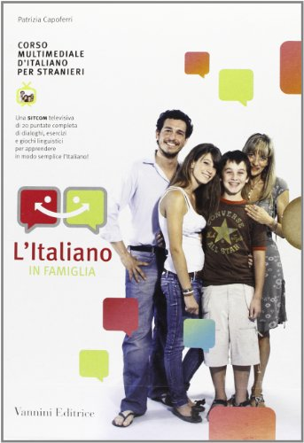9788864460154: L'italiano in famiglia. Kit completo. Con DVD. Ediz. multilingue