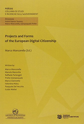 9788864580746: Projects and forms of the European digital Citizenship (Poiêsis)