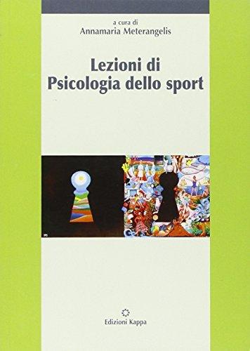 Lezioni di psicologia dello sport: Meterangelis, Annamaria