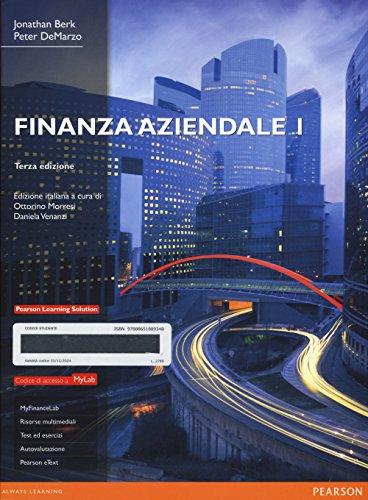 Finanza aziendale. Ediz. mylab. Con e-book. Con: Jonathan Berk; Peter