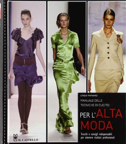 9788865202142: Manuale delle tecniche di cucito per l'alta moda
