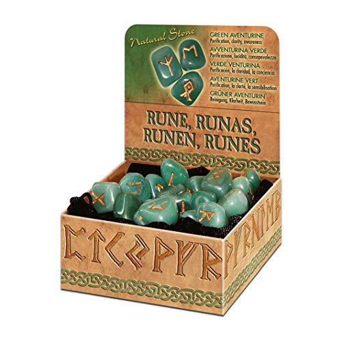 9788865270172: Green Aventurine Runes Bookshelf Edition