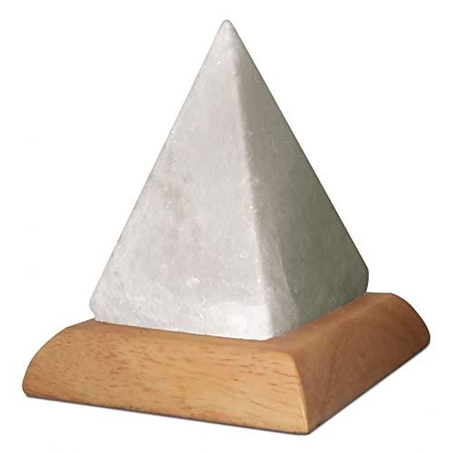 9788865273272: Himalayan Salt Lamp - Pyramid: Box contains a USB powered multicolour Salt Lamp with book