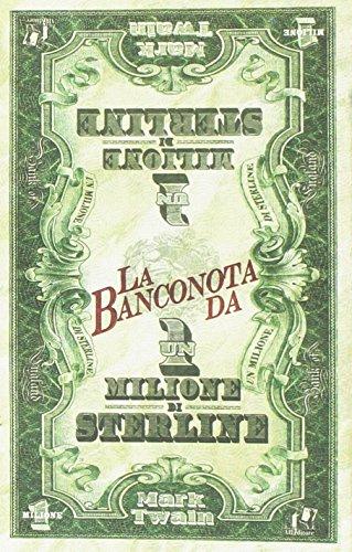 9788865512166: La banconota da un milione di sterline