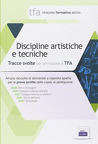 14 TFA. Disciplina artistiche e tecniche. Prova: Chiara Abbate; Paolo