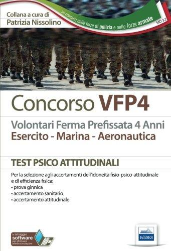 Concorso VFP4. Esercito, marina, aeronautica. I test