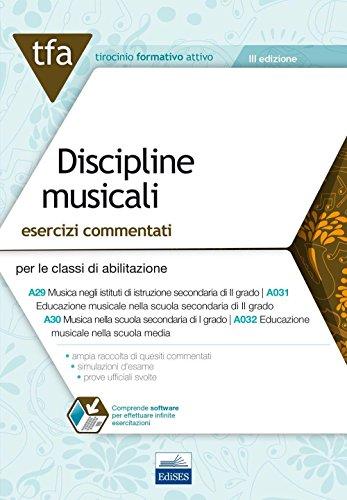 E19 TFA discipline musicali. Esercizi commentati per: C. De Simone