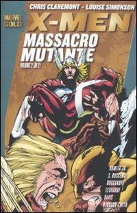 9788865894156: X-Men. Massacro mutante: 2 (Marvel Gold)