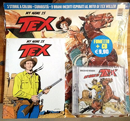 9788865895450: My name is Tex. Con CD Audio