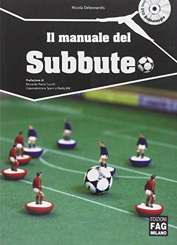 9788866043546: Il manuale del subbuteo. DVD