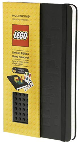 9788866130086: Moleskine LEGO Limited Edition Notebook, Large, Ruled, Black, Hard Cover (5 x 8.25) (Limited Editions)