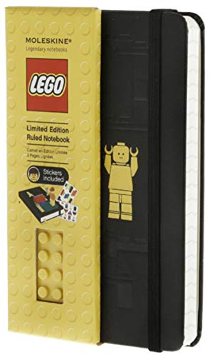9788866130116: Moleskine LEGO Limited Edition Notebook, Pocket, Ruled, Black, Hard Cover (3.5 x 5.5) (Limited Editions)