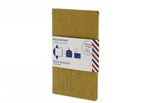 9788866132554: Moleskine Postal Notebook Large Maize (Moleskine Messages)