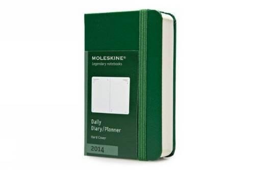 9788866135562: Moleskine 2014 Daily Planner, 12 Month, Extra Small, Oxide Green, Hard Cover (2.5 x 4 ) (Planners & Datebooks)