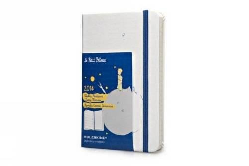 9788866137511: 2014 Moleskine Petit Prince Limited Edition White Hard Pocket Weekly Notebook
