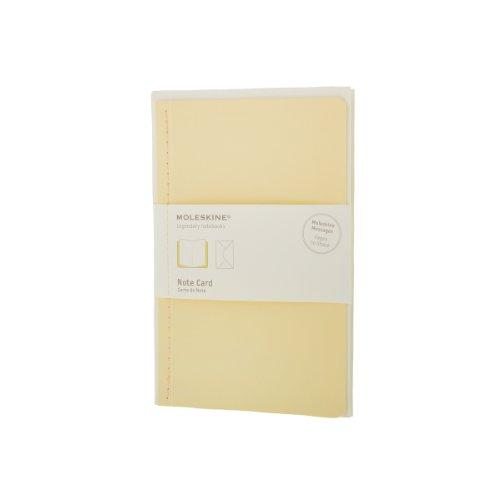 Pack de 12 Cartes de Note+Envelop Gd Ft Jaun Pastel: Moleskine