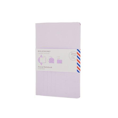 Pack de 10 Carnets Postaux Gd Ft Violet Lilas Pastel: Moleskine