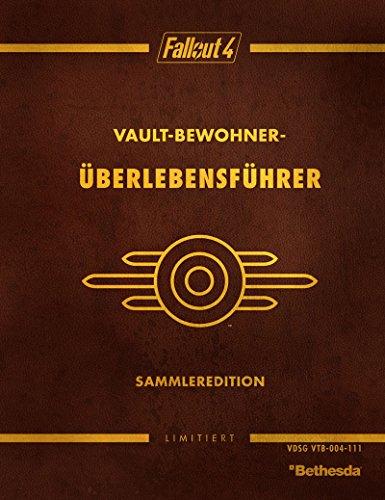 9788866312130: Fallout 4 Vault Dweller's Survival Guide Collector's Edition Das offizielle Lösungsbuch, limitierte Hardcover-Ausgabe