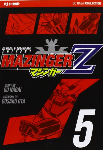 9788866345077: Mazinger Z. Ultimate edition vol. 5