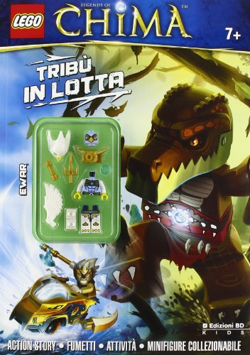 9788866348009: Tribù in lotta. Legends of Chima. Lego. Con gadget