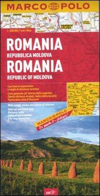 9788866390633: Romania, Repubblica Moldova 1:800.000. Ediz. multilingue