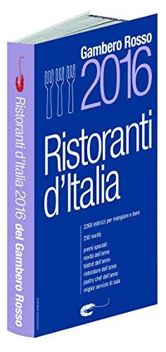 9788866410744: Ristoranti d'Italia 2016